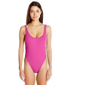 La Blanca 'The Anniversary' pink high cut swimsuit